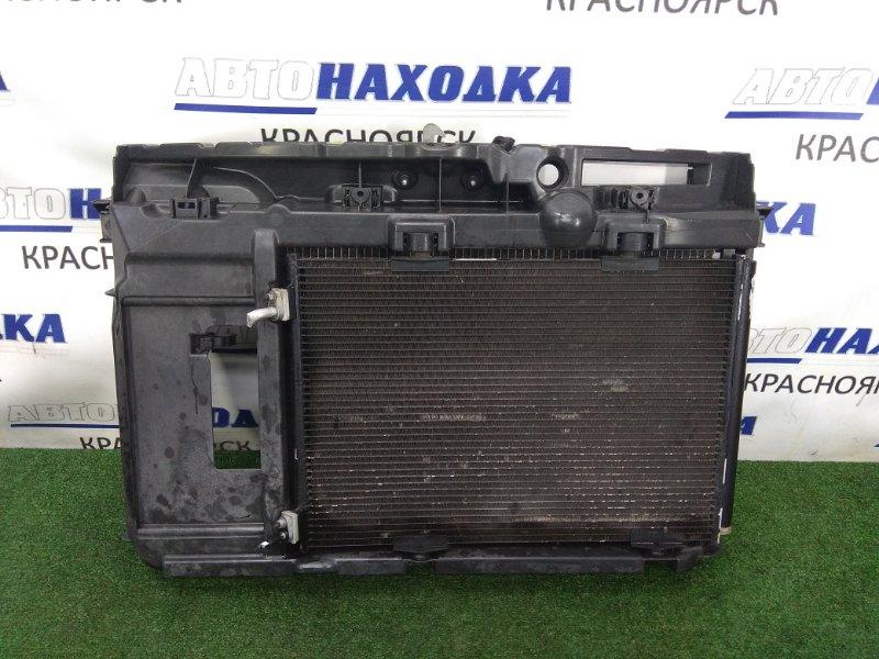 Рамка радиатора Citroen C3 F TU5JP4 2001 передняя 9680103880 пластиковая, PEUGEOT 207, в сборе, с