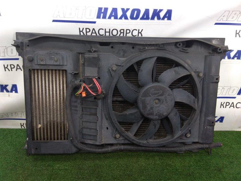 Рамка радиатора Citroen Grand C4 Picasso UA EP6 2007 передняя пластиковая, в сборе, с 3 радиаторами