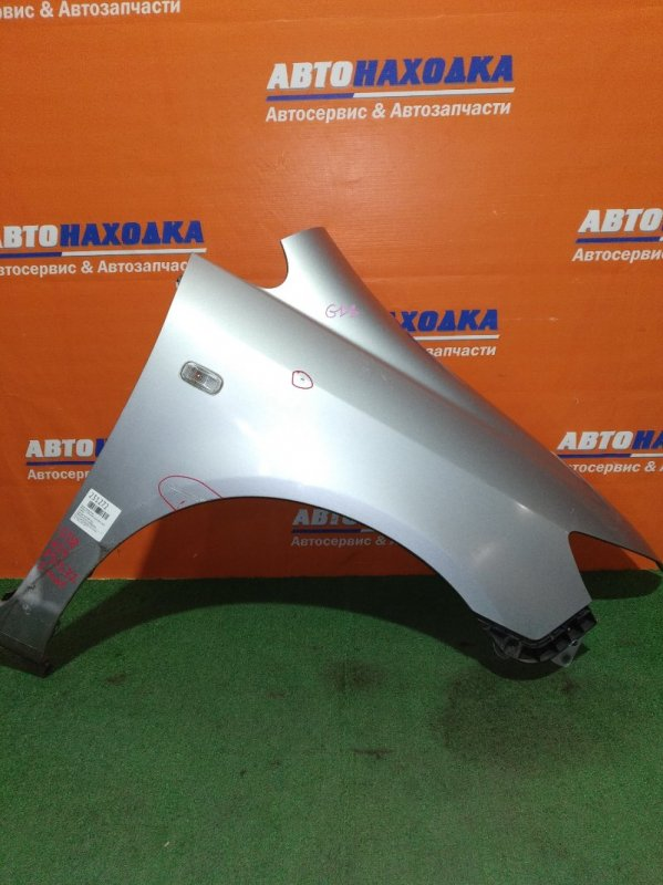 Крыло Honda Fit Aria GD8 L15A 2005 переднее правое 2мод цвет NH700M под покраску+клипса+повторитель