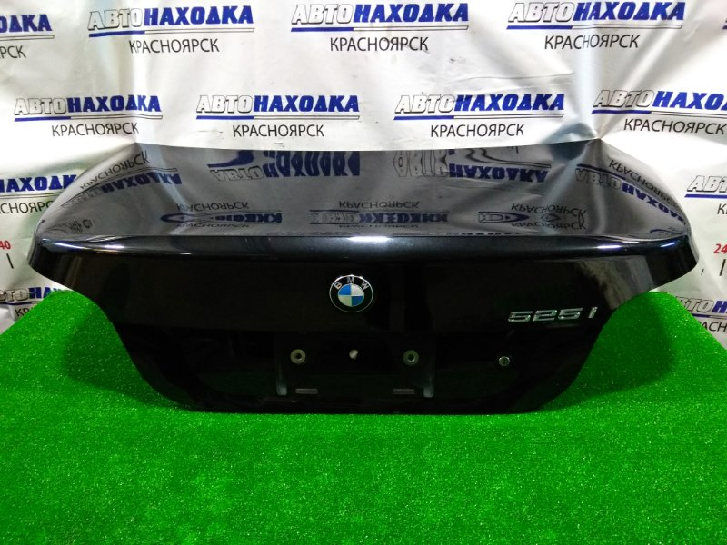 Крышка багажника Bmw 525I E60 M54B25 2003 задняя 41627122441 в сборе, цвет 475, с кармашком под