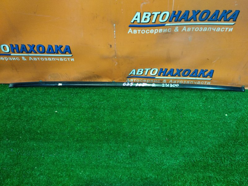 Молдинг лобового стекла Nissan Serena CC25 MR20DE правый