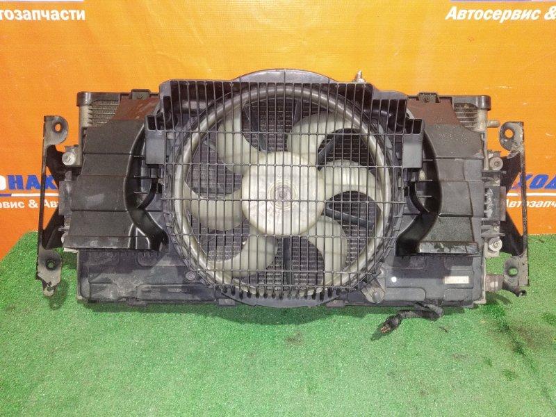 Радиатор кондиционера Nissan Caravan VPE25 KA20DE 2001 +диффузор с вентилятором