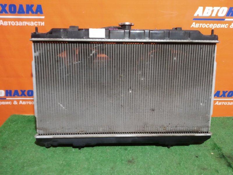 Радиатор двигателя Nissan Ad VFY11 QG15DE 1999 +диффузор с вентиляторами+ трубки охлаждения