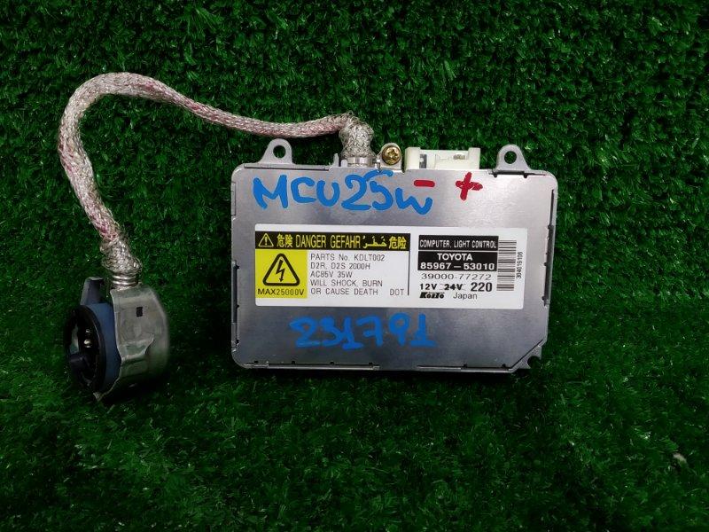 Блок розжига ксенона Toyota Kluger MCU25W 1MZ-FE 2000 8596753010 D2R/D2S, проверен - ОК.