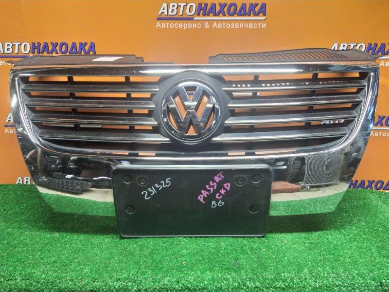 Решетка радиатора Volkswagen Passat 3C5 BWA 05.2006 3C0853651 +КРЕПЛЕНИЕ ПОД НОМЕР