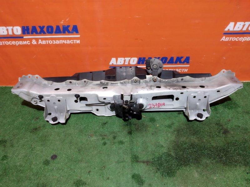 Рамка радиатора Toyota Belta SCP92 2SZ-FE 2005 верх планка с замком