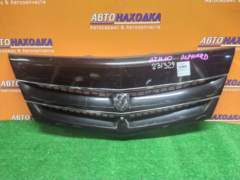 Решетка радиатора Toyota Alphard Hybrid ATH10 2AZ-FXE 53101-58050 / 60 +КАМЕРА 2MOD