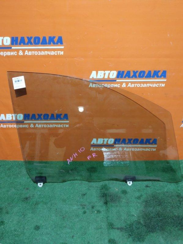 Стекло боковое Toyota Alphard ANH10W 2AZ-FE 2002 переднее правое
