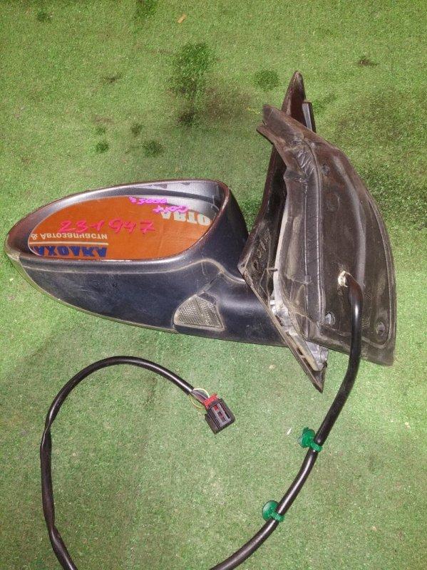 Зеркало Volkswagen Golf 1K1 BCA 2003 левое 10 проводов ОТС