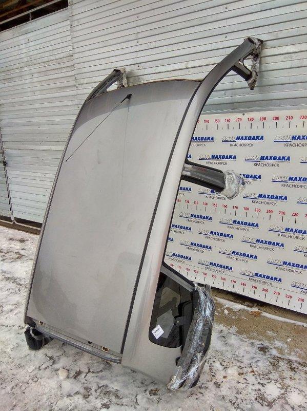 Крыша Honda Fit GD1 L13A 2001 В ХТС. Со стойками по низ стекол, стеклами собачника,