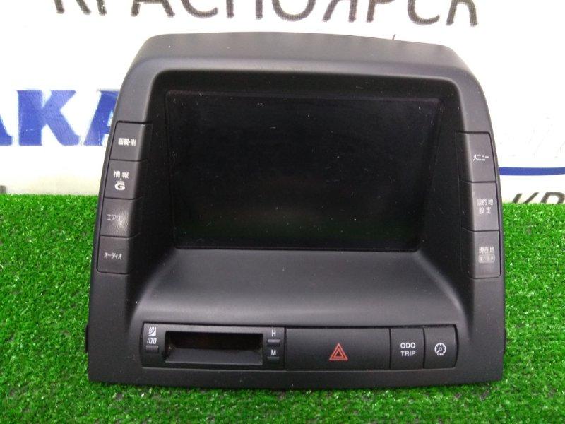 Телевизор в салон Toyota Prius NHW20 1NZ-FXE 2003 86110-47050 штатный монитор с центральной консоли,