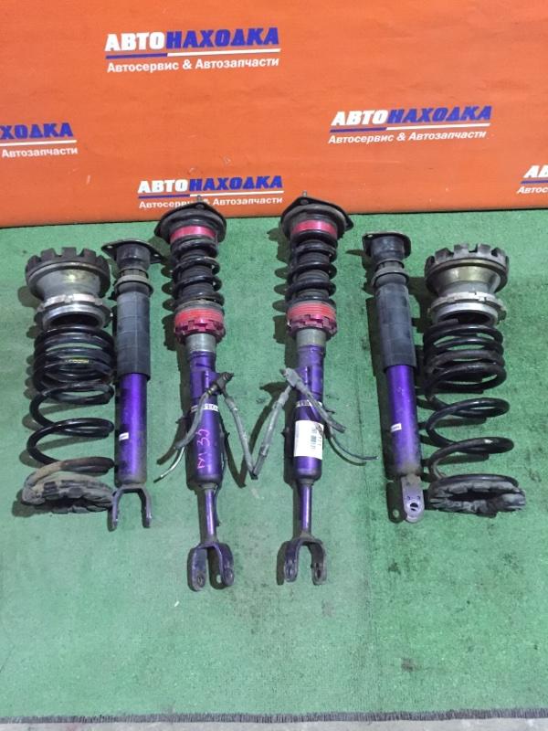 Стойка Nissan Stagea M35 VQ25DD 2001 комплект стоек+пружины+амортизаторы