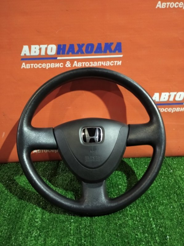 Руль Honda Fit Aria GD8 L15A 2002 с airbag без заряда
