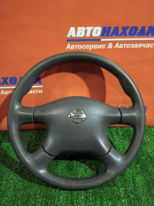 Руль Nissan Caravan VPE25 KA20DE 2001 с airbag без заряда