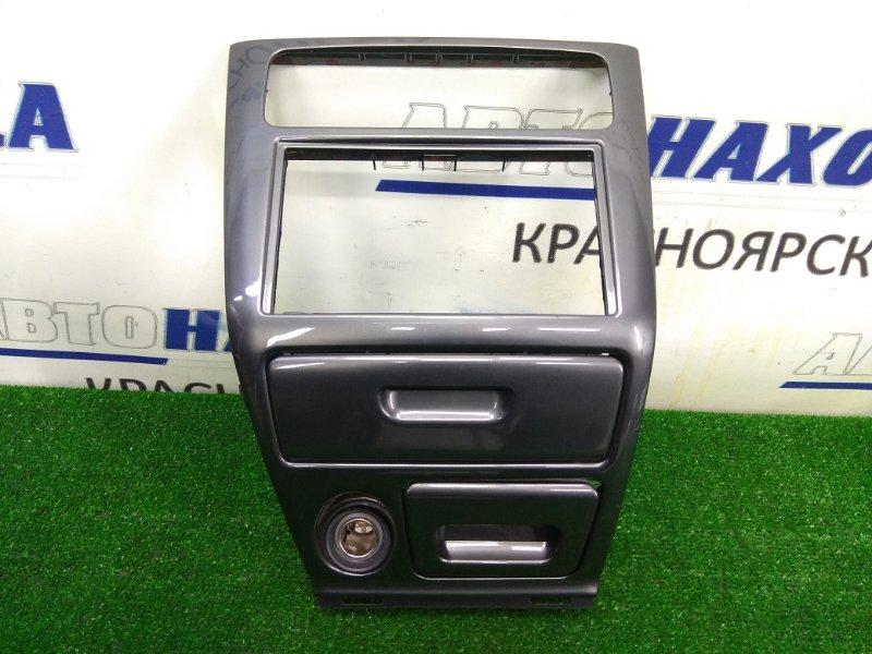 Консоль магнитофона Mitsubishi Legnum EA7W 4G94 1998 с подочечником, пепельницей и