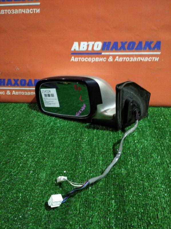 Зеркало Toyota Avensis AZT250 1AZ-FSE 2006 левое 9 контактов с поворотником/с подогревом/хтс