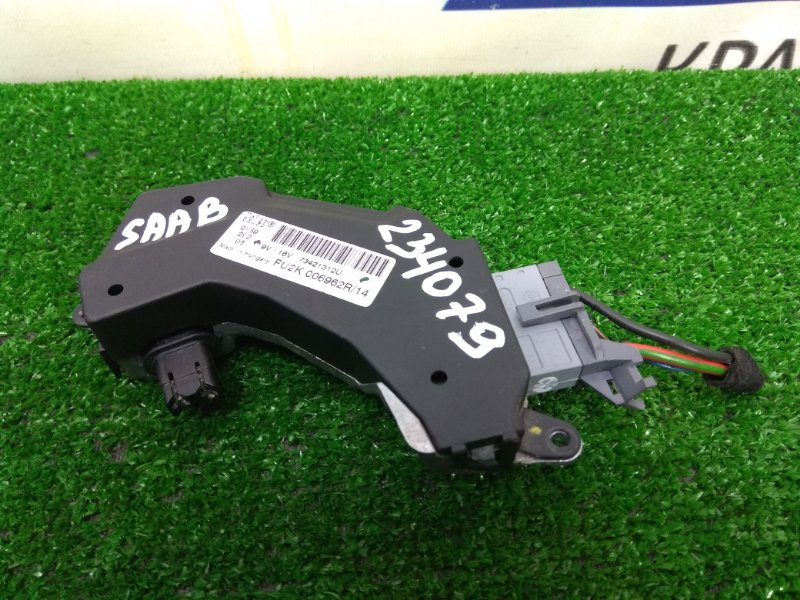 Реостат печки Saab 9-3 YS3F B207E 2002 73421312U, 006962R с фишкой