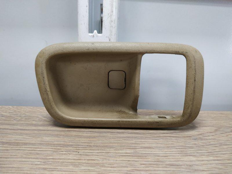 Ручка внутренняя Toyota Land Cruiser HDJ101K 1HD-FTE правая 69283-30040-A0, 69283-30040-A1 только ванночка