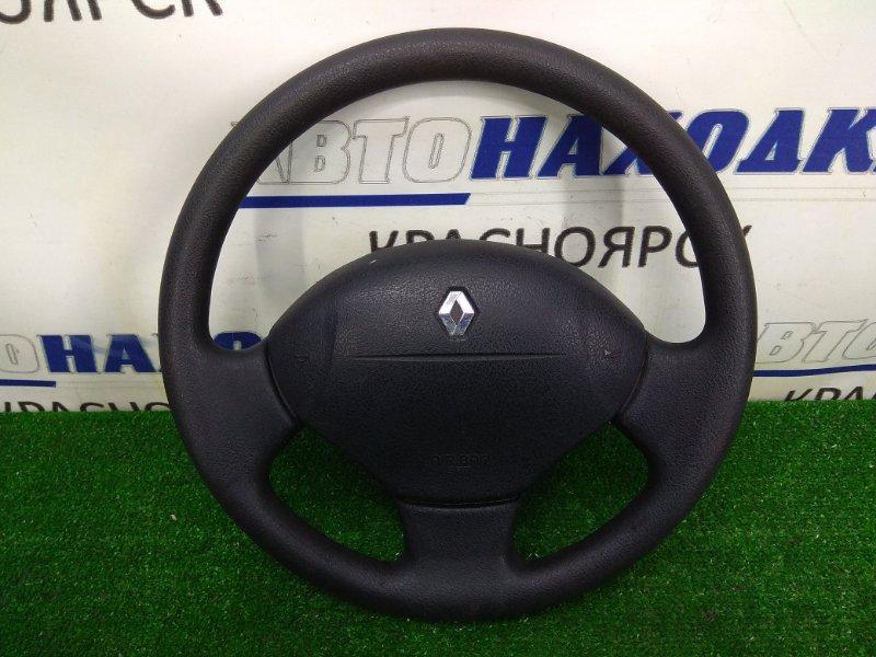 Airbag Renault Kangoo KC K4M 2003 передний правый водительский, без заряда, с рулем, черный (салон HARM01)