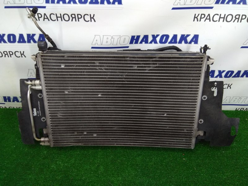Радиатор двигателя Saab 9-3 YS3F B207E 2002 24418342 В сборе с диффузором, вентиляторами,