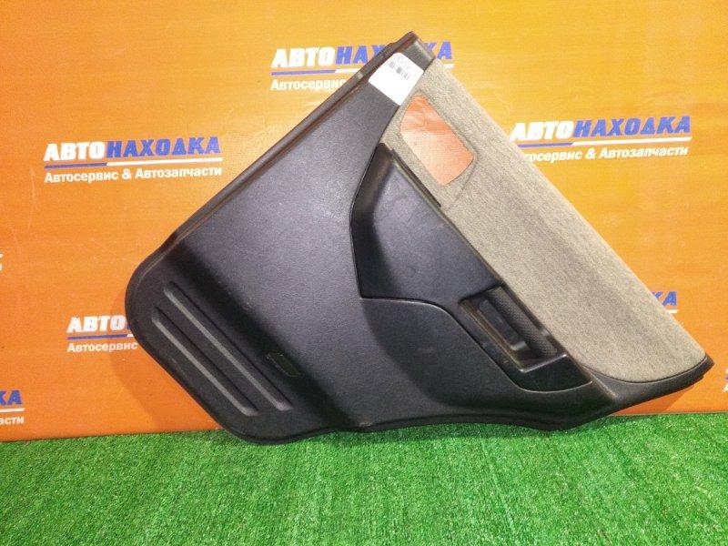 Обшивка двери Mitsubishi Pajero Io H77W 4G94 2000 задняя правая ХТС