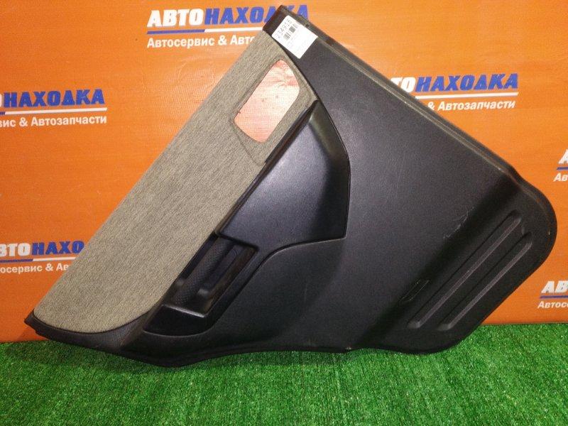 Обшивка двери Mitsubishi Pajero Io H77W 4G94 2000 задняя левая ХТС
