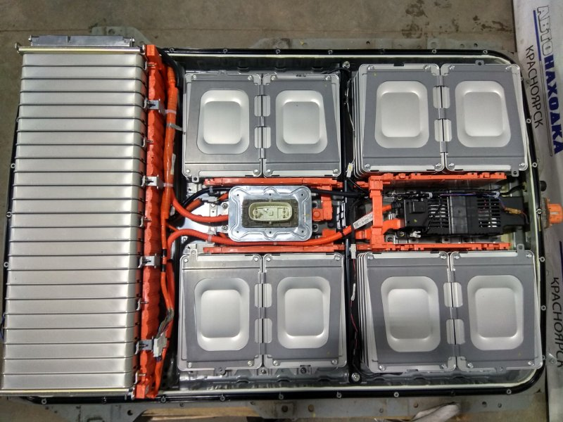 Батарея высоковольтная Nissan Leaf ZE0 EM61 2009 744803NA0B В сборе. 24 KWH С аукционного авто.