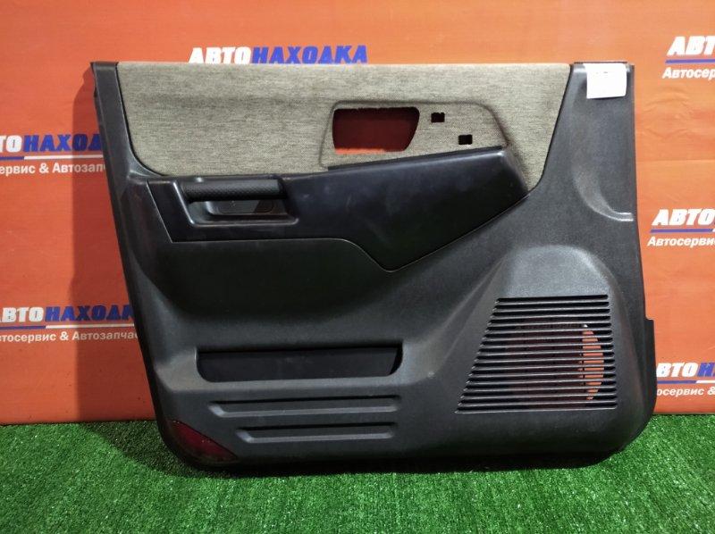 Обшивка двери Mitsubishi Pajero Io H77W 4G94 2000 передняя левая ХТС