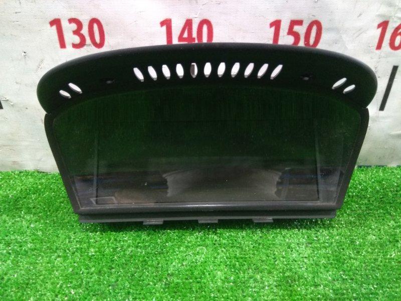 Телевизор в салон Bmw 525I E60 M54B25 2003 65826945660 Дисплей информационный