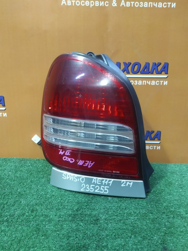 Фонарь задний Toyota Corolla Spacio AE111 4A-FE 06.2000 левый 13-58 2MOD