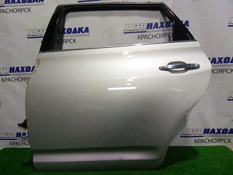 Дверь Toyota Mark X Zio ANA10 2AZ-FE 2007 задняя левая RL в сборе.