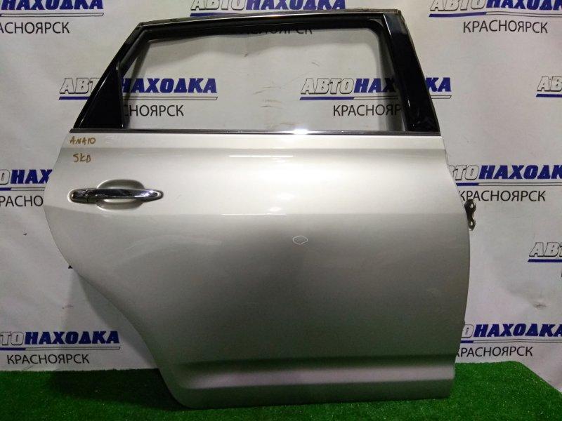 Дверь Toyota Mark X Zio ANA10 2AZ-FE 2007 задняя правая RR в сборе.