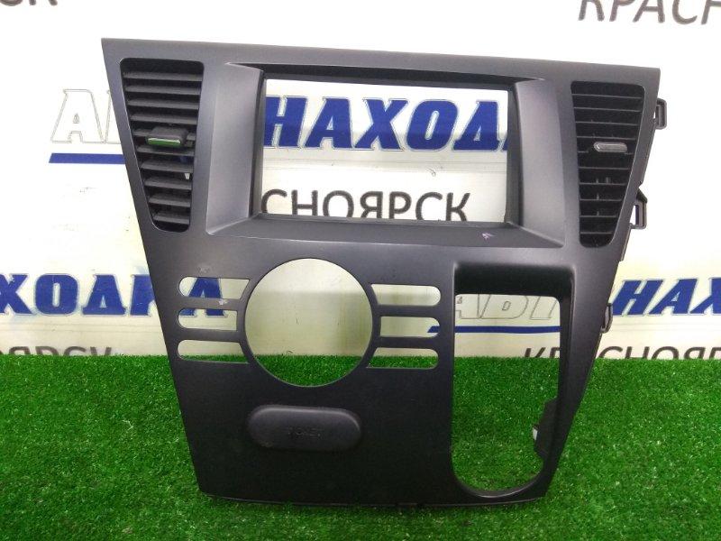 Консоль магнитофона Mazda Biante CCEFW LF-VDS 2008 C27355211 ХТС, с центральными воздуховодами,