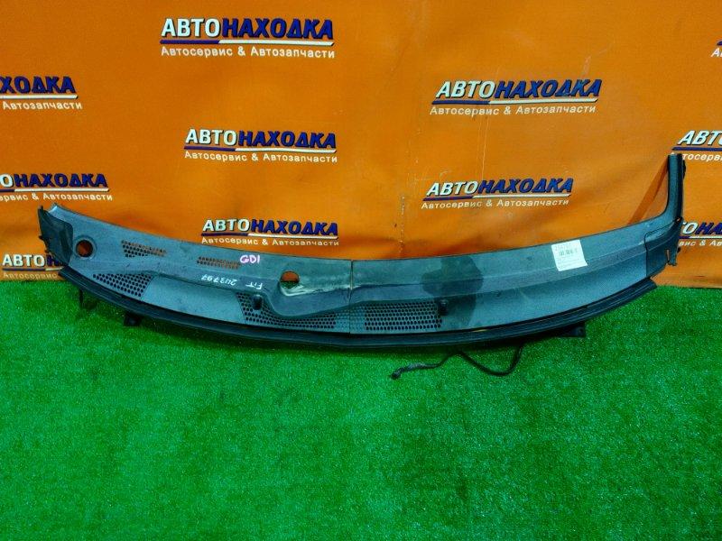 Решетка под лобовое стекло Honda Fit GD1 L13A 74213-SAA- 2MOD, ПРАВЫЙ УГОЛОК ОТЛОМАН