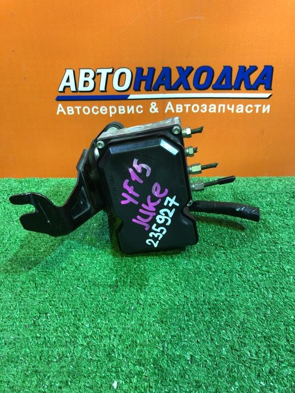 Блок abs Nissan Juke YF15 HR15DE 47660-1ke0a