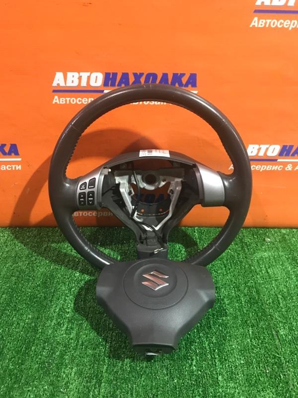 Руль Suzuki Sx-4 YA11S M15A 2006 +airbag без патрона/мультируль/есть потертости
