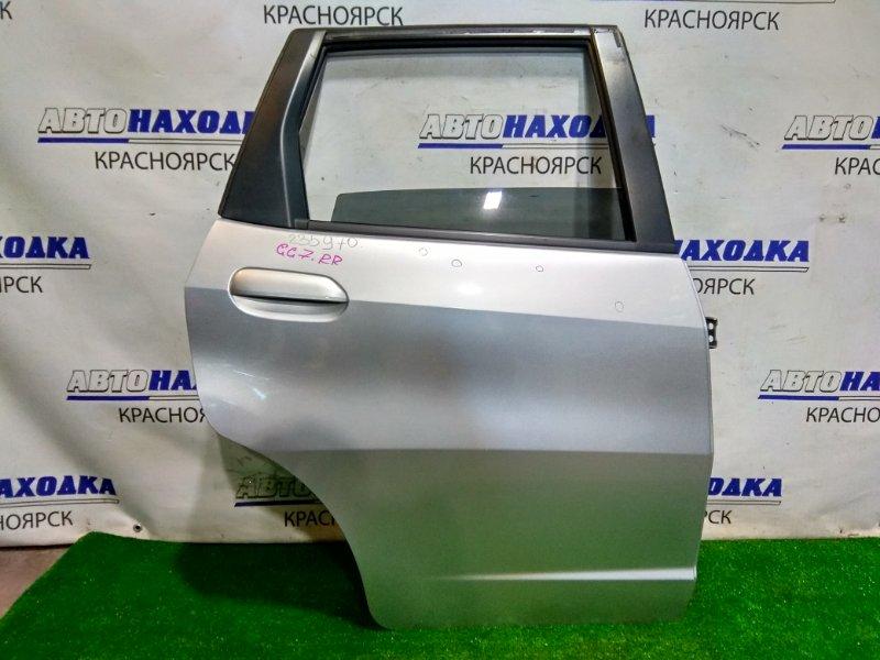Дверь Honda Fit Shuttle GG7 L15A 2013 задняя правая RR в сборе. В ХТС. Цвет NH700M