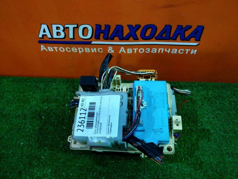 Блок предохранителей Toyota Corolla Spacio AE111 4A-FE 06.2000 САЛОННЫЙ
