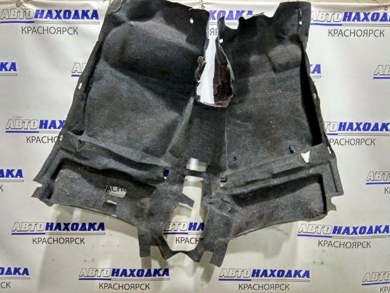 Обшивка пола Toyota Sienta NCP81G 1NZ-FE 2006 58500-52260 ковровое покрытие пола в салон - передняя