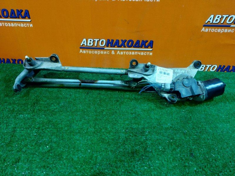 Мотор дворников Toyota Corolla Spacio AE111 4A-FE 06.2000 85110-13060 +ТРАПЕЦИЯ
