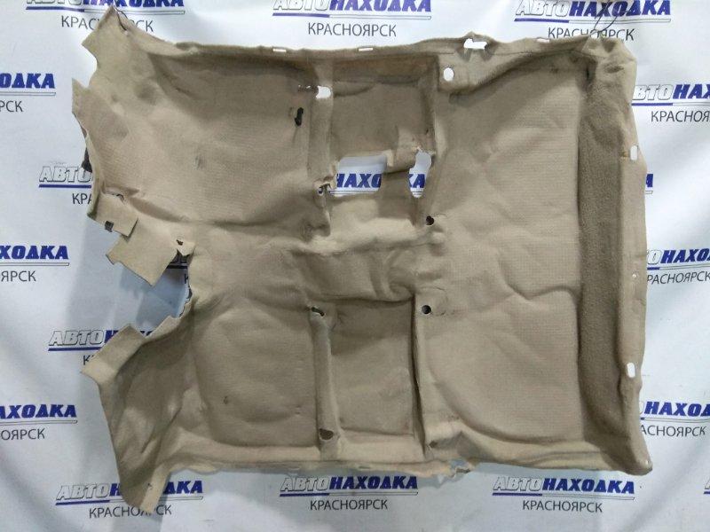 Обшивка пола Toyota Raum EXZ10 5E-FE 1997 58510-46070-A1, 58510-46080-A1 ковровое покрытие пола в салон. ХТС