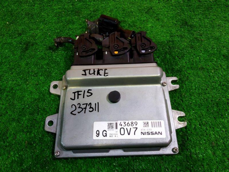 Компьютер Nissan Juke YF15 43689-0V7/ A56-E99