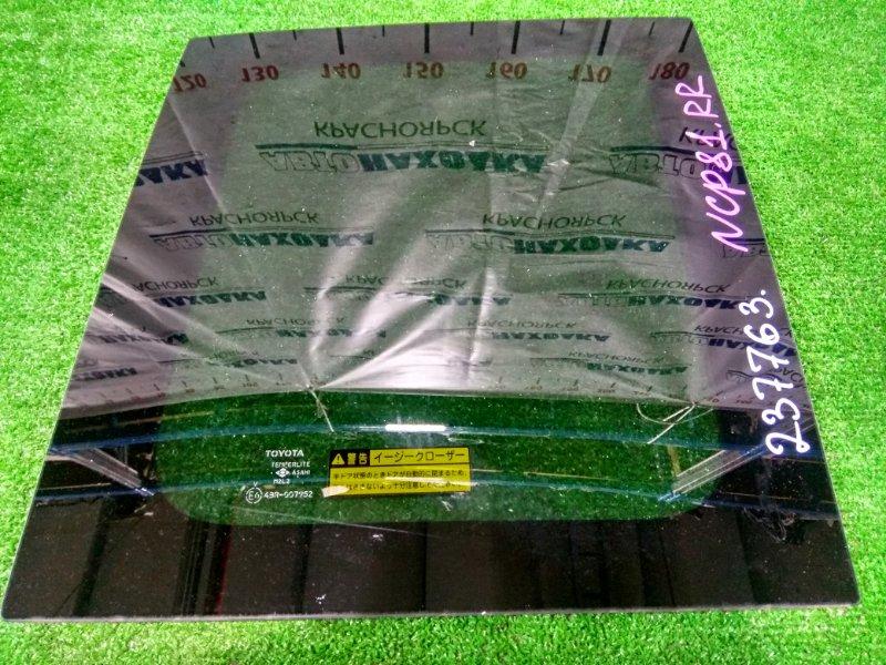 Стекло собачника Toyota Sienta NCP81G 1NZ-FE 2006 заднее правое 6271152250 RR, заводская тонировка