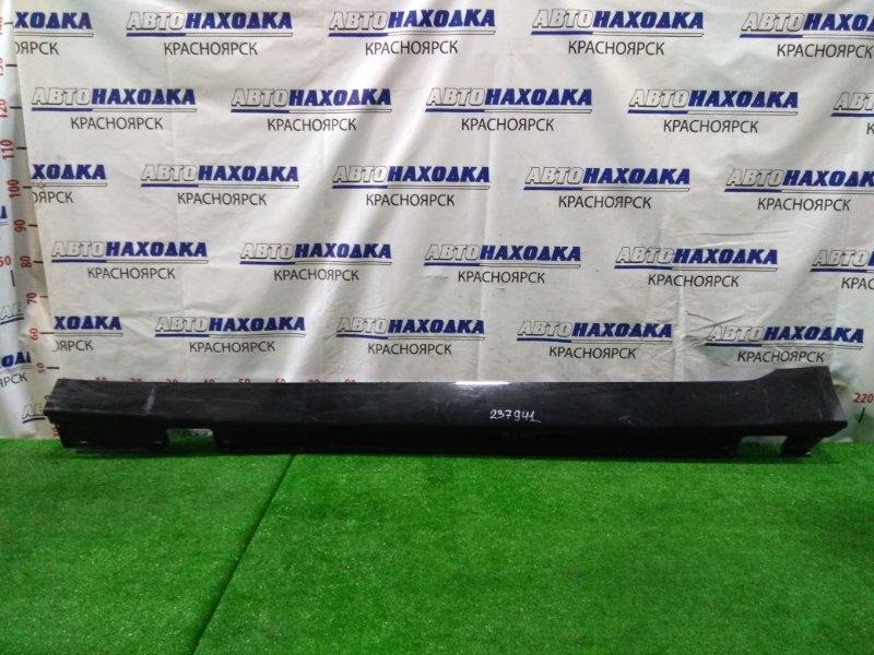 Порог Bmw 525I E60 M54B25 2003 левый пластиковый, левый, цвет 475