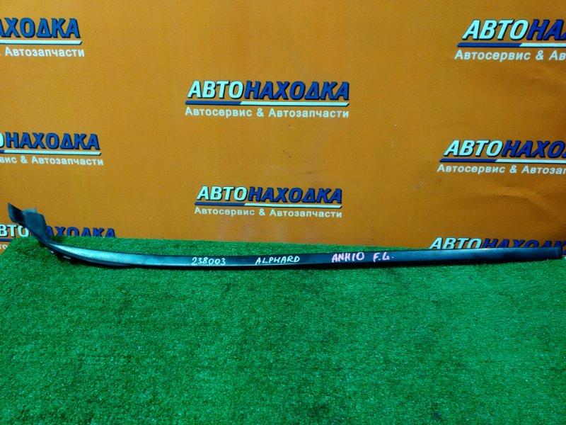 Молдинг лобового стекла Toyota Alphard ANH10 2AZ-FE левый