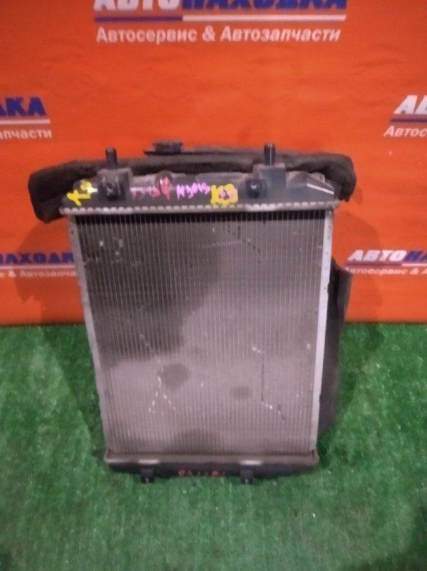 Радиатор двигателя Daihatsu Boon M301S K3-VE А/Т 1вент