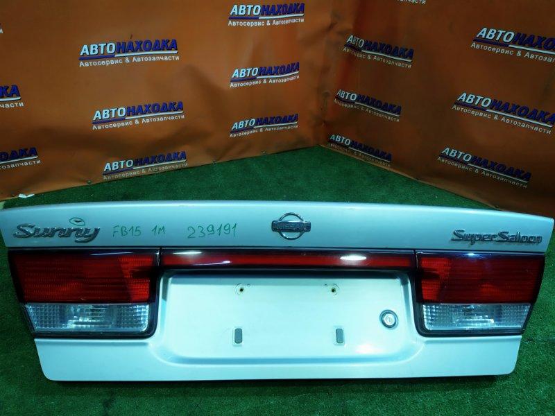 Крышка багажника Nissan Sunny FB15 QG15DE 1MOD, ВСТАВКИ 4845,