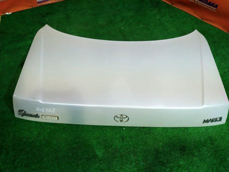 Крышка багажника Toyota Mark Ii GX90 1G-FE СНЯТ ЗНАЧОК