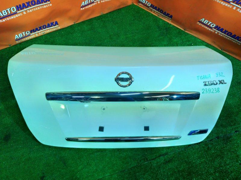 Крышка багажника Nissan Teana J32 VQ25DE 250XL, +КАМЕРА,