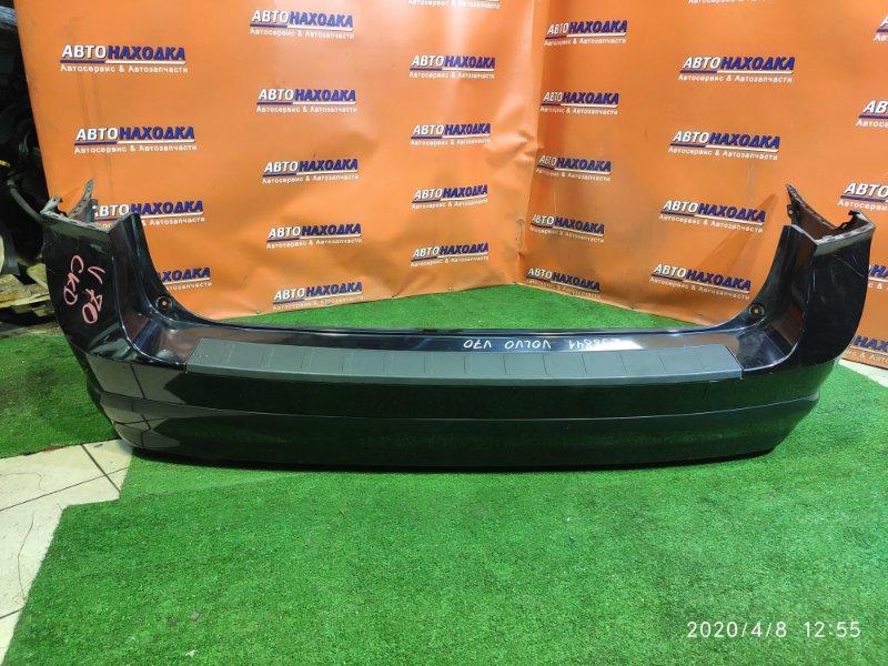 Бампер Volvo V70 BW5 B5254T6 06.2008 задний 30678655 ПОД 2 ТРУБЫ